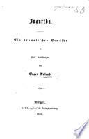 Jugurtha. Ein dramatisches Gemälde in fünf Handlungen [and in prose and verse].