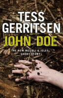 John Doe A Rizzoli And Isles Short Story