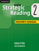 Strategic Reading Level 2 Teacher s Manual