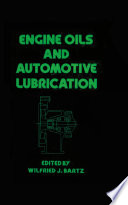 Engine Oils and Automotive Lubrication