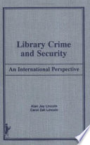 Library Crime and Security