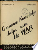 Consumer Knowledge Helps Win the War Book PDF