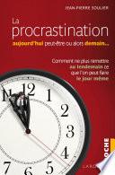 download ebook la procrastination aujourd'hui peut-être... ou alors demain ? pdf epub