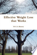 EFFECTIVE WEIGHT LOSS THAT WORKS