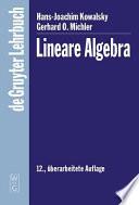Kowalsky michler lineare Algebra 12a Lg