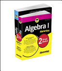Algebra I Workbook For Dummies with Algebra I For Dummies 3e Bundle