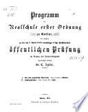 Programm der Realschule I. O. zu Goslar0