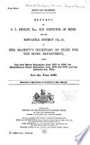 Mines  Reports     Under the Coal Mines Act     3  Yorkshire Division