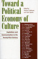 download ebook toward a political economy of culture pdf epub