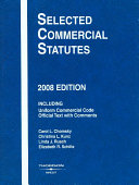 Selected Commercial Statutes 2008