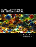 Grammar Standards Test Tips and Strategies
