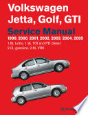 Volkswagen Jetta Golf Gti 1999 2005 Workshop Service Repair Manual