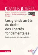 Les Grands Arr Ts Du Droit Des Libert S Fondamentales 2e D