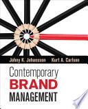 Contemporary Brand Management