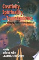 Creativity Spirituality And Transcendence