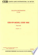 Ceb Fip Model Code 1990 Final Draft Chapters1 3
