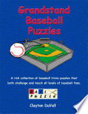 Grandstand Baseball Puzzles