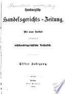 Hanseatische Gerichtszeitung