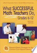 What Successful Math Teachers Do  Grades 6 12