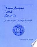 Pennsylvania Land Records