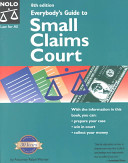 Everybody s Guide to Small Claims Court