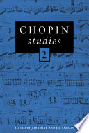 Chopin Studies 2 Of Essays Contains The Most Recent