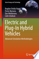 Electric and Plug In Hybrid Vehicles