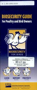download ebook biosecurity guide for poultry and bird owners pdf epub