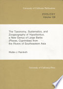 The Taxonomy  Systematics  and Zoogeography of Hypsibarbus  a New Genus of Large Barbs  Pisces  Cyprinidae  from the Rivers of Southeastern Asia