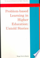 Problem Based Learning In Higher Education  Untold Stories