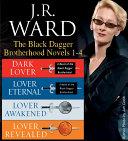 download ebook j.r. ward the black dagger brotherhood novels 1-4 pdf epub