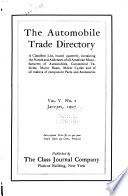 The Automobile Trade Directory