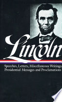 Speeches and Writings, 1859-1865