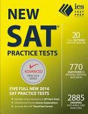 New SAT Practice Tests