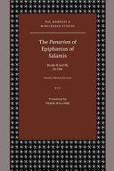 The Panarion Of Epiphanius Of Salamis