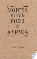 Voices of the Poor in Africa Sources To Bring Back The Voices