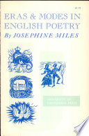 Eras   Modes in English Poetry