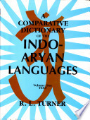 A Comparative Dictionary of the Indo Aryan Languages