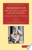 Herodotus The Seventh Eighth And Ninth Books book