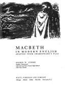 Macbeth  in modern English