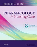 Pageburst Smart Topics for Pharmacology for Nursing Care