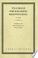 Willibald Pirckheimers Briefwechsel