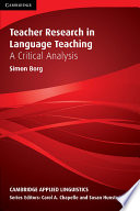 Teacher Research in Language Teaching