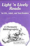 Light  n Lively Reads for ESL  Adult  and Teen Readers