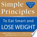 Simple Principles to Eat Smart   Lose Weight