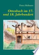 Ottenbach im 17  und 18  Jahrhundert