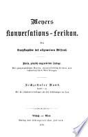 Meyers Konversations lexikon