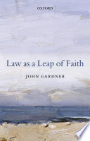 Law as a Leap of Faith