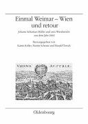Einmal Weimar Wien und retour