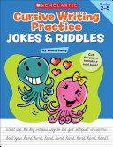 Cursive Writing Practice Jokes   Riddles  Grades 2 5
